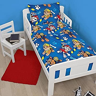 Character World Paw Patrol Rescue Junior Duvet Set, Multi-Colour - low-cost UK light store.