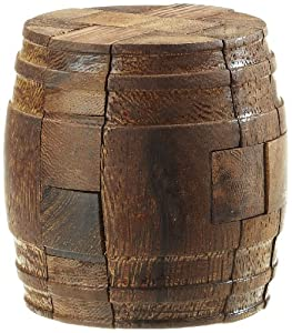 Philos 6020  - Juego rompecabezas de madera Barril de Diógenes Importado de Alemania