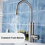 Mr. Peng™ Edelstahl Armaturen, Die Ein Heißes Bivalente Elektrische Warmwasserbereiter Waschtischarmaturen