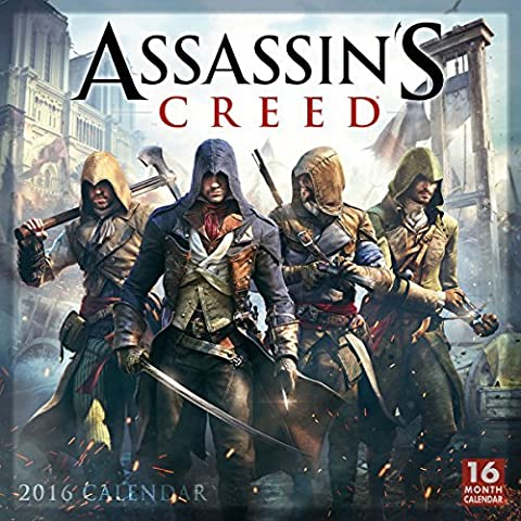 Assassins Creed?? 2016 Wall Calendar by Ubisoft Entertainment (2015-06-15)