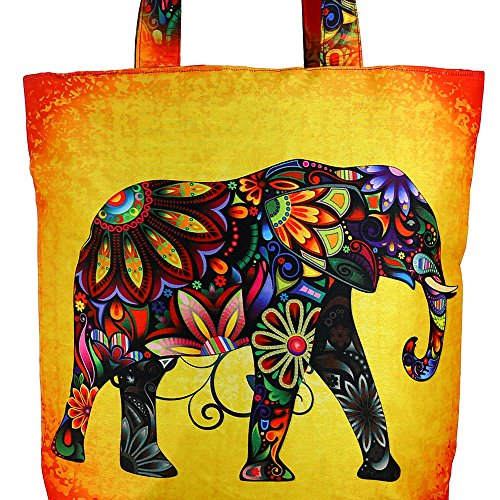 ShalinIndia – stampa digitale, multiuso Fashion shopping bag Multi_2