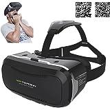 VR-3D Virtual Reality Brille, Universal kompatibel mit vielen Handy-Modelle in der Größe 4 bis 6 Zoll u. a. Samsung…