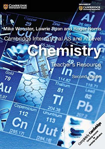 Cambridge International AS and A Level Chemistry Teacher's Resource CD-ROM (Cambridge International Examinations)