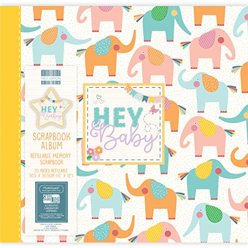 by - Elephants Scrapbook Album 12