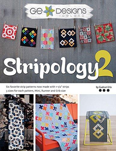 G.E. Designs stripology 2Quilt zeigen Streifen Muster Buch -