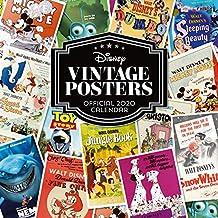 Disney Vintage Posters 2020 Calendar - Official Square Wall Format Calendar