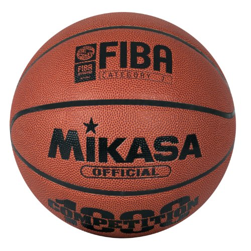 Mikasa Basketball BQ1000 - Pelota de baloncesto ( outdoor, indoor, cuero ) , color naranja, talla 7