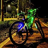 #9: ACRATO LED Bike Safety Light Refective Gear 2 Modes Strobe Steady Light Cycling Bicycle Lights Flashing Safety Light Bike Safety Warning Light with Universal Stripes for Bike Hamlet Backpack and Umbrella Long to 100 hours Battery Lifetime