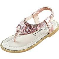 ABCone Scarpe per Ragazze Eleganti Sandali Primi Passi Bambina Scarpe Ballerine da Bambine e Ragazze Sandali Romani…