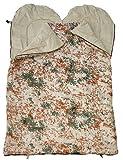 A.B.outdoor - Saco de dormir para 2 personas multicolor tropentarn