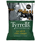 Tyrrels Chips Vinegar And Sea Salt (All'Aceto e Sale Marino) - 150 g