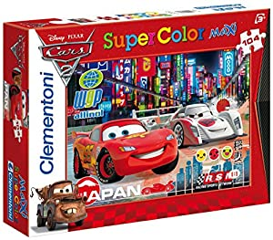 Clementoni 23623.7 Cars 2: Racing Rivals - Puzzle Grande (104 Piezas)