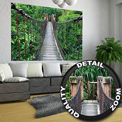 poster-rope-bridge-mural-decoration-jungle-landscape-nature-adventure-rainforest-bush-the-tropics-vi