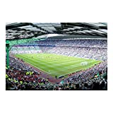 Kinderzimmer Tapeten - Vliestapeten Premium - Fußballstadion - Fototapete Breit Vlies Tapete Wandtapete Wandbild Foto 3D Fototapete, Größe HxB: 225cm x 336cm