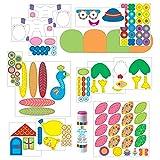 Alex Toys Little Hands - 1409 - Kit De Loisirs Créatifs - Bricolage Sympas Avec Bâtonnets En Bois