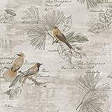 HY-Sofá fondo de la pared, china antigua flores y pájaros, papel pintado, sala de estar, restaurante, Sofá, casa de té, American Style Shop, 3222,53 * 1000,