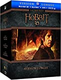 Le Hobbit - Version Longue - La Trilogie - Coffret Blu-Ray 3D + Blu-Ray [Version longue - Blu-ray 3D + Blu-ray + DVD + Copie digitale]