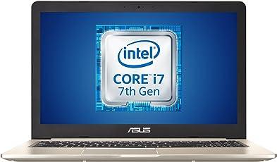 "Asus VivoBook Notebook, Display 15.6"" Full HD, Processore Intel Core i7-7700HQ 2.8 GHz, RAM 8 GB DDR4, Scheda Grafica nVidia GeForce MX150, HDD 1000 GB, Windows 10 Home"