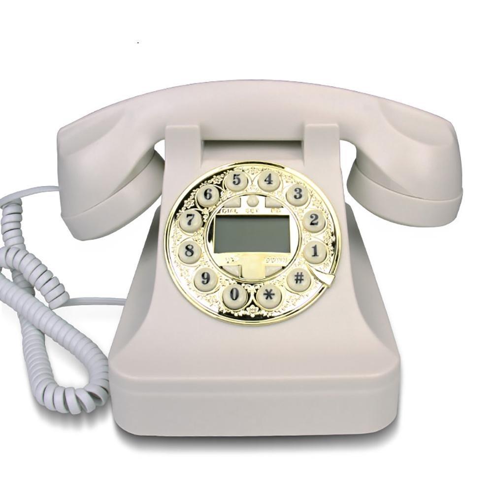 Retro telefono, Stile antico, ID chiamante, Casa creativa, Camera da letto personalizzata, Decorazi