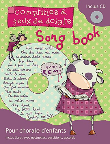 Remi songbook comptines et jeux doigts pvg + CD
