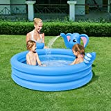 Generic Multi-Function Lovely Elephant Children Inflatable Swimming Water Pool Family Home Playground Pool piscina bebe zwembad