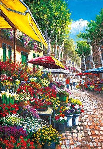 Blumenmarkt 46-516 Guru Sam Park Las Ramblas 450 Kleines Stück Puzzle (450 Stück Puzzles)