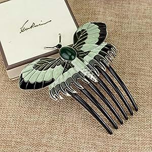 Aukmla, fermaglio, pettine di Rose del Titanic, decorazione matrimoniale per i capelli, da usare ogni giorno oppure alle feste