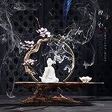 Willower Chinesische Zen-Dekoration, Kreative Einrichtungsgegenstände, Weiche Ornamente, Keramik, Buddha, Wohnzimmer, Büro Handwerk, Ornamente, Zen.Herz