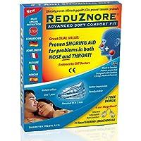 ReduZnore Anti-Schnarch-Hilfe. NEUER optimierter Tragekomfort Plus Bonus: 6 MegaVent Nasendilatatoren preisvergleich bei billige-tabletten.eu