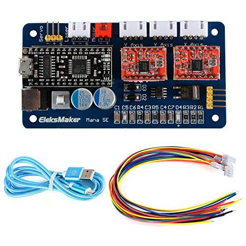 EleksMaker ManaSE 2 Axis Dual Y-Achsen Stepper DIY Laser Motor Treiber Controller Board für DIY Laser Graveur -