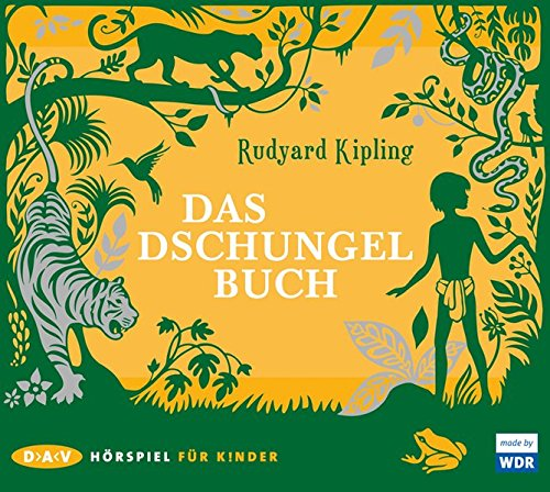dschungelbuch hoerbuch Das Dschungelbuch: Hörspiel (2 CDs)
