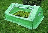 Frühanzuchtbeet L 180 x B 142 x H 80 cm, Frühbeet, Greenhouse, Foliengewächshaus, Anzucht