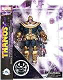 DIAMOND SELECT TOYS Avengers: Infinity War Marvel Select Thanos Action Figure [Avengers: Infinity War]