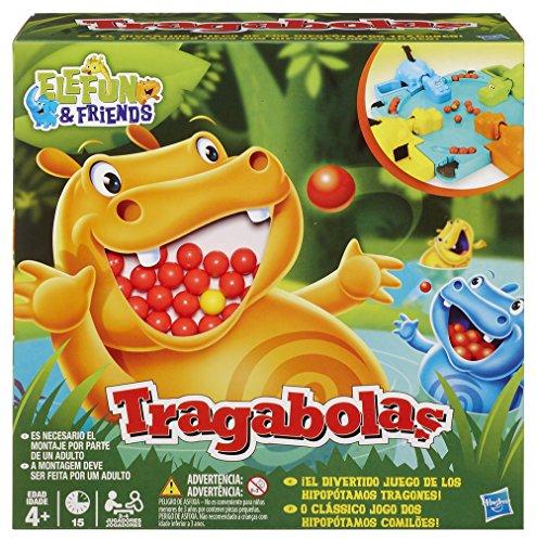 Hasbro Gaming   Tragabolas  juego de mesa (Hasbro 98936175) (versión española/portuguesa)