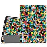 Fintie iPad Pro 9.7 Zoll Hülle - Ultradünne Superleicht Schutzhülle SlimShell Case Cover Tasche Etui mit Auto Schlaf / Wach und Standfunktion for Apple iPad Pro 9.7 Zoll (2016 Modell), Mosaic