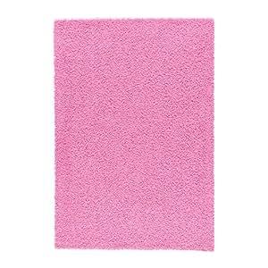 IKEA HAMPEN-Tapis à poils longs Rose 133 x 195 cm