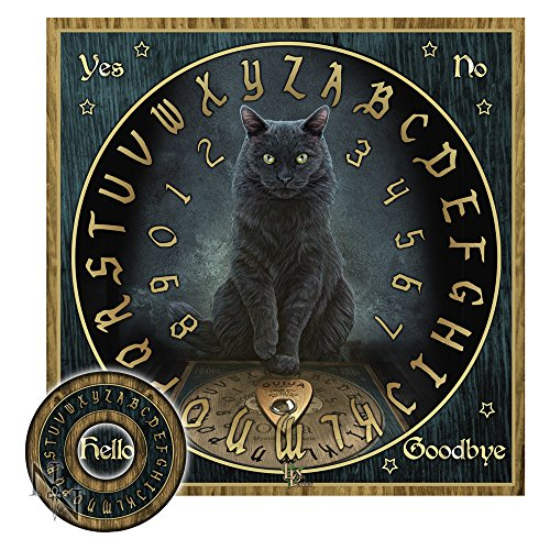 Ouija Brett Spirit Board 36cm verschiedene Varianten (His Master's Voice Lisa Parker)