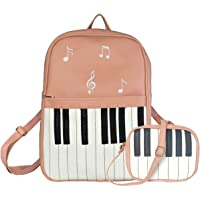 TYPIFY® Piano Design Women PU Leather 2 pcs combo Backpack and Sling Bag