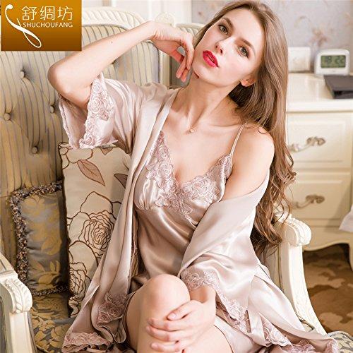 hoom-seidenpyjama-frauen-armband-sexy-nachthemd-nachthemd-seide-seide-home-kleidung-170-xl-grau