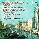 Musique venitienne - Six concertos pour fl�te