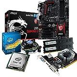 tronics24 PC Aufrüstkit | Intel Core i5 4460 Haswell 4x 3.2GHz Quad-Core | 8GB High-Speed DDR3-RAM PC-1600 | Nvidia GeForce GT730 4GB | MSI Z97 Gaming 3 Mainboard mit Intel Z97 Chipset | USB3.0 | Killer LAN | 7.1 Audio BOOST