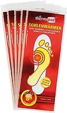 Thermopad Unisex– Erwachsene Sohlenwärmer Aktivkohlewärmer, weiß, XL