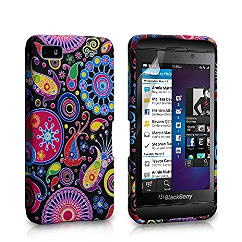 Yousave Accessories BL-BB01-Z083 Coque en silicone pour BlackBerry Z10 Multicolore