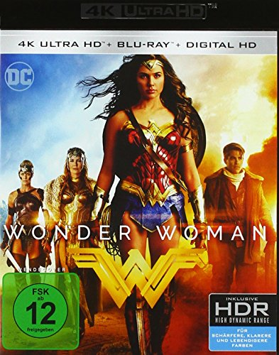Wonder Woman (Remastered) (4K Ultra HD) (+ Blu-ray 2D)