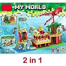 Ingenious Toys® My World branded* - 2in1 ocean adventure / building blocks construction set #823-mine