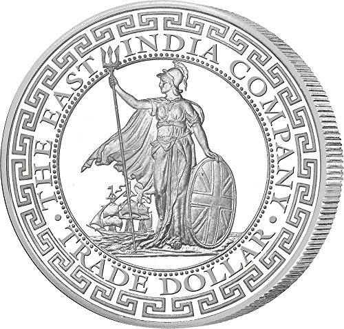 BRITISH Britisch Trade Dollar 1 Oz Silber Münze 2$ Niue 2018
