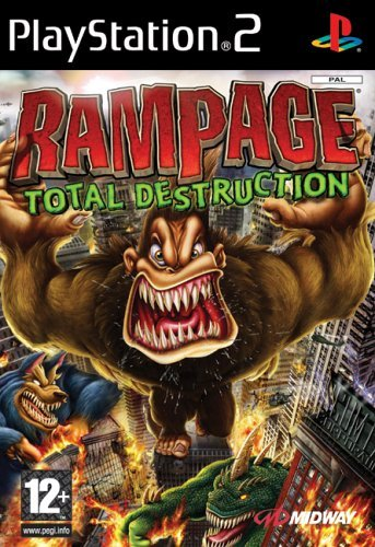 Rampage: Total Destruction (PS2) by Midway Games Ltd