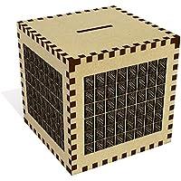 Preisvergleich für Azeeda Groß 'Kreuzschraffur Hintergrund' Sparbüchse / Spardose (MB00012608)
