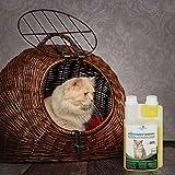 Geruchsneutralisierer Spray für Katzen – natürlicher Katzenurin Entferner – gegen Katzenklo Geruch (500ml Konzentrat ergeben 25 Liter gebrauchsfertigen Katzenurin Geruchsentferner) - 4