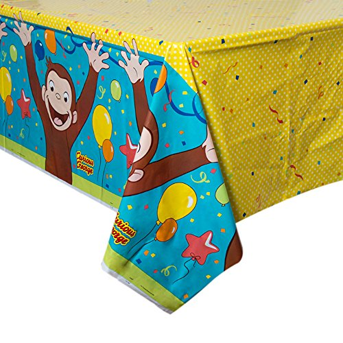 Curious George Party Plastic Table Cover (Party Curious George)